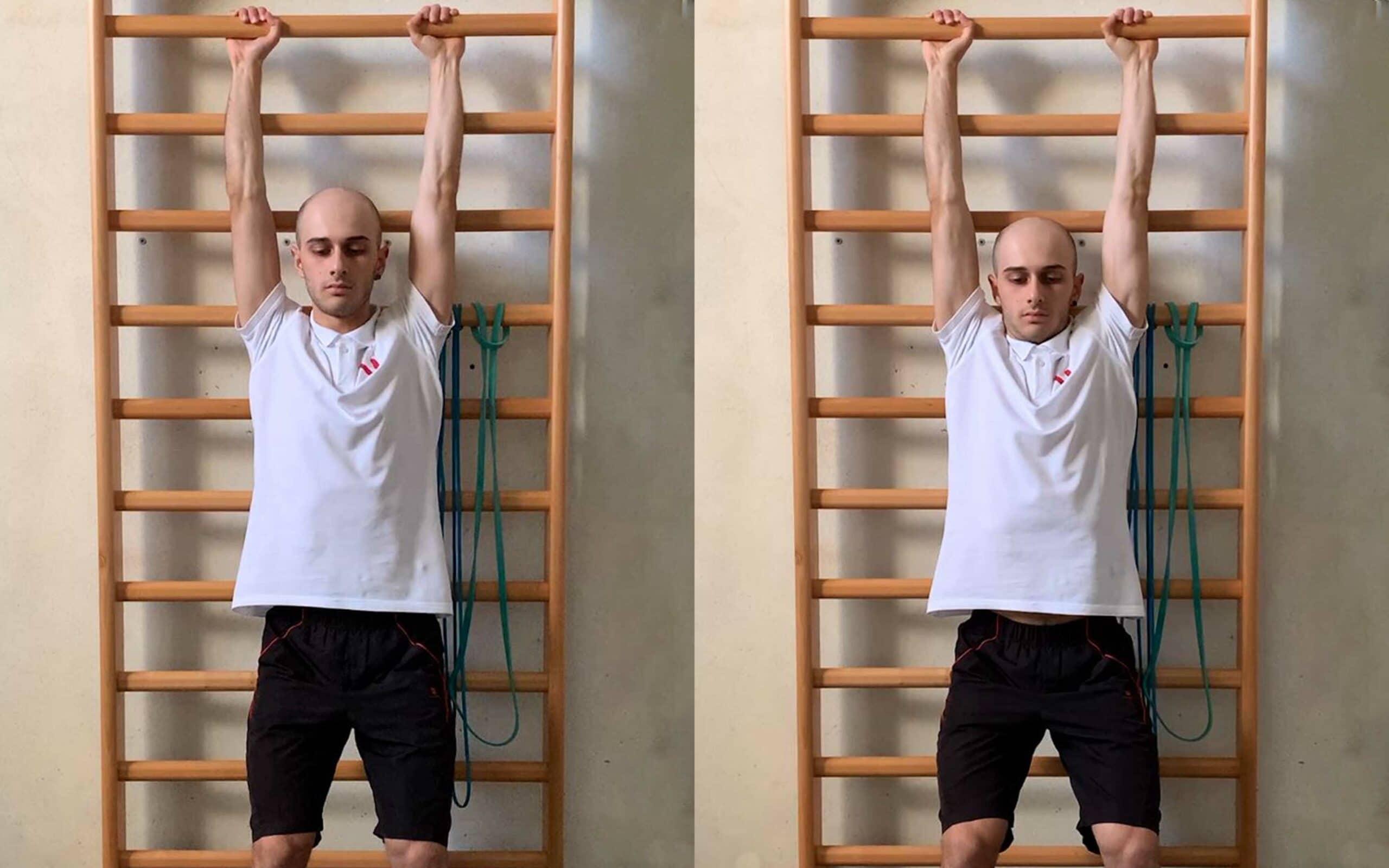 stretching pettorale