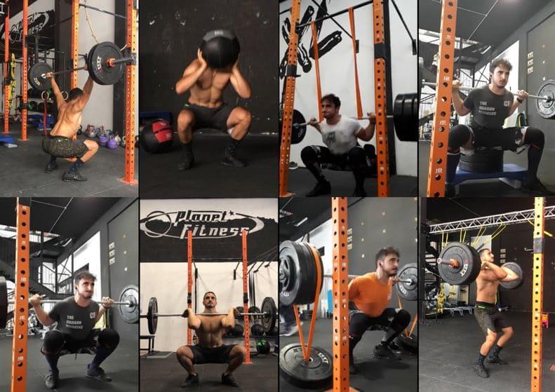 squat allenamento